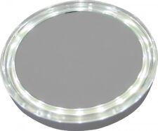 Taschenspiegel beleuchteter Hand-Kosmetikspiegel mit 5fach-Vergrößerung LED
