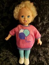 Adorable Vintage 1987 Playmate Baby Grows Doll, Doll Grows ! cute cute cute