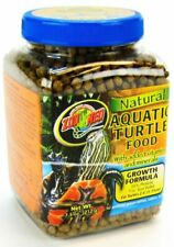 LM Zoo Med Natural Aquatic Turtle Food - Growth Formula Pellets 7.5 oz best prices on ebay