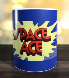 Space Ace retro arcade game Marquee Mug