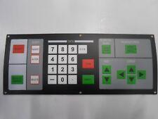 Hitachi Seiki Keypad Membrane, Control Panel Overlay - HS1002