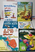 Lot of 6 Dr Seuss Beginner Books Hardcover Books. LIKE NEW. FAST SHIPPING.