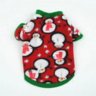 Warm Fleece Pet Dog Clothes Cute Skull Printed Pet Coat Puppy Dogs Jacket French
