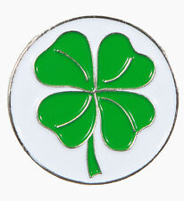 Four Leaf Clover Golf Ball Marker w/Magnetic Hat Clip