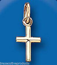 Pendente A Croce Croce Oro Piccolo Oro Giallo Croce