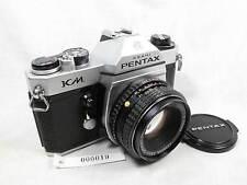 PENTAX KM 35mm SLR CAMERA W/50MM SMC LENS L@@K