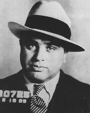 American Gangster, Mobster AL CAPONE Mugshot 8x10 Photo Criminal Glossy Print