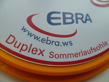 EBRA Eisstock Duplex Sommerlaufsohle orange 14 S