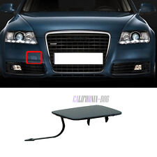 Primed Front Bumper Tow Hook Eye Cover Trim For Audi A6 C6 2009-2011 4F0807441F