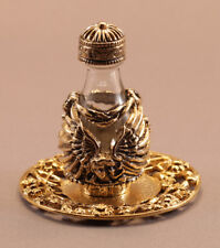 Gold Angel Tear Bottle With Tray #3026-6034