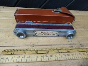 Vintage Precision Optical Range Finder made in USA by Federal Instrument Corp.NY