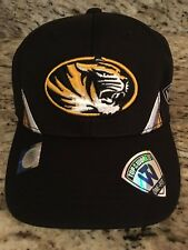 Missouri Tigers Top Of The World Fitted Cap Hat One Fit / Size NWT NEW
