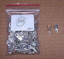 - VERTICAL - 100 PCS fahnestock clips AM crystal tube transistor radio kit parts