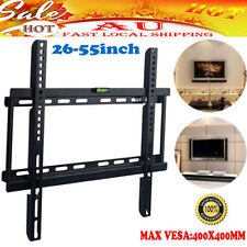 Ultra Slim LCD LED Plasma TV Wall Mount Bracket 26 28 30 34 38 42 54 55 Inch AU