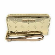 Michael Kors Jet Set Travel Large Smartphone Wristlet - Pale Gold
