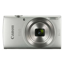 Canon IXUS 185 / ELPH 180 20.0MP Digital Camera 8x Optical Zoom Silver