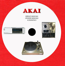Akai Audio Video Repair Service and owner manuals dvd 1 of 3 in pdf format