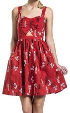 Her Universe Disney Lilo & Stitch Retro Style Cut Out Cosplay Dress - Size L