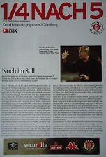 Programm Info 2002/03 FC St. Pauli - SC Freiburg