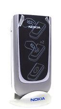 Nokia 7020 Blue and Grey Greek Keypad NEW SWAP ORIGINAL UNLOCKED