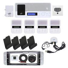 IntraSonic IST I2000 Intercom System Radio Doorbell Optional Bluetooth 4-Room