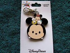 Disney * TSUM TSUM MICKEY & FRIENDS * New on Card Pin Trading Lanyard Medal