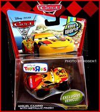 Disney Pixar Cars 2 MIGUEL CAMINO with METALLIC FINISH EXCLUSIVE Toys R Us NEW