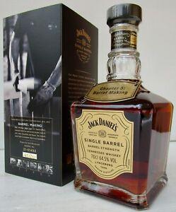 Jack Daniels Chapter 5 Barrel Making Rare Ltd Edition 1 Of Only 210 Bottles-Rare