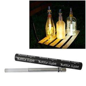 The Bottlelight Company Bottlelight Stableuchte, Acryl, Warmweiß, 3-Einheiten