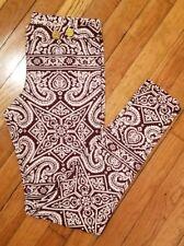 Charlie by MZ Matthew Zink white and purple Resort Pants, Size m