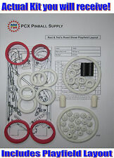 1994 Williams Red & Ted's Road Show Pinball Rubber Ring Kit