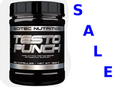 Scitec Nutrition Testo Punch 120cap Testosterone Booster Anabolic Supplement DAA