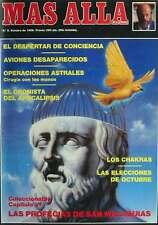 REVISTA MÁS ALLÁ - Nº 8 - OCTUBRE DE 1989 - VER PORTADA E ÍNDICE