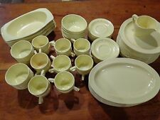 Vintage Set 82 Matching Pieces Yellow Prolon Dinnerware  Dishes 1950s Melmac