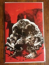IMMORTAL HULK #19 MIKE DEODATO RED SKETCH VIRGIN ONLY 500 W/COA