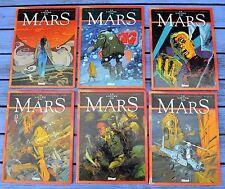 Le lièvre de Mars 1 à 6 (premier cycle complet), Cothias - Parras, Glénat...