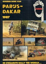 GOUDEN BOEK VAN PARIJS - DAKAR 1987 - dICK VAN zIJL