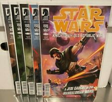 Star Wars Knights of the Old Republic War 1-5 Dark Horse comics NM+ NO RESERVE
