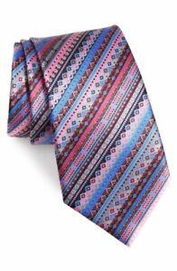 New Ermenegildo Zegna Venticinque #174 Pink Silk Tie