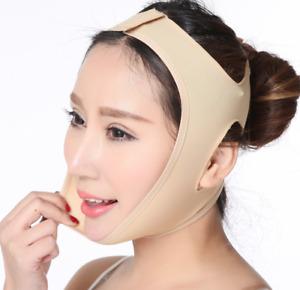 V Line Facial Slimming Strap Mask Chin Neck Belt Anti Aging Face Lift Up Bandage