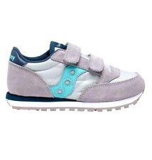 Sneaker Saucony baby Jazz Double Sk164794 grey light Pe21 estiva con strappi