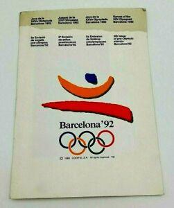 Sellos Pre-olímpicos 5a Emisión Barcelona 92 Deportes España Edición Limitada