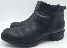 3B14 Timberland Beckwith Side Zip Chelsea Boot Booties Black Women Size 9 Eu 40