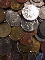 100 Gramm Restmünzen/Umlaufmünzen Barbados