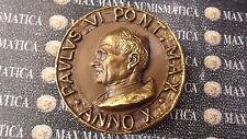 PAOLO VI  AN X  MEDAGLIA BRONZO C. PAOLOVI-42