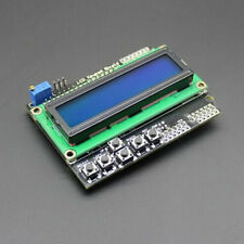 LCD 1602 Keypad Shield For Arduino Due UNO R3 PANTALLA AZUL BUTTONS Hot
