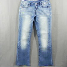 Decree Womens Jeans Cotton Blend Stretch Slim Boot Cut Size 3 26 x 26.5