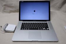"""MacBook Pro A1286 i7 2.2gHz 4GB ram 1TB HDD 15"""" EARLY 2011"""