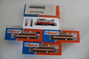 8351/491- Roco H0e Personenzug mit Elektrolok 33210 inkl OVP