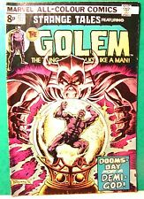 "bd comics VO "" STRANGE TALES FEATURING THE GOLEM "" n°177  MARVEL 1974 en anglais"